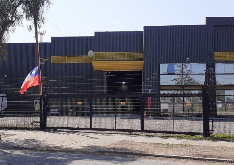 Galpón industrial 550m2 en 2.000m2 , Quilicura